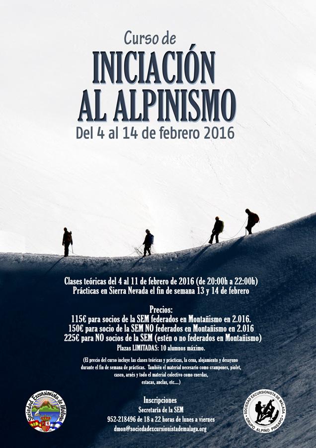 Curso Iniciación Alpinismo 2016