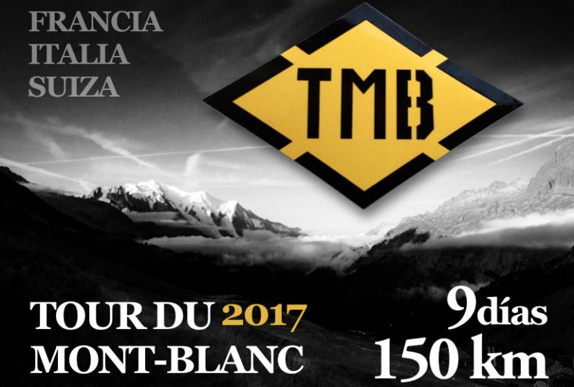 Proyección TOUR DU MONT-BLANC